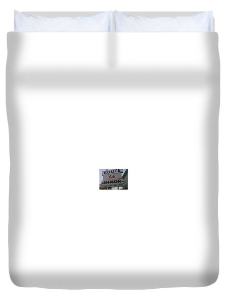 Route 66 Duvet Cover by Kimberly  W