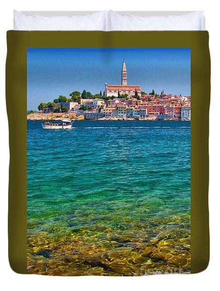 Rovinj Croatia Duvet Cover