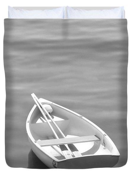 Row Boat Duvet Cover by Mike McGlothlen