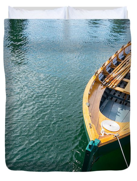 Rowboat Duvet Cover