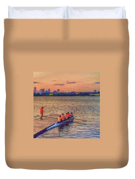 Rowing Club Duvet Cover