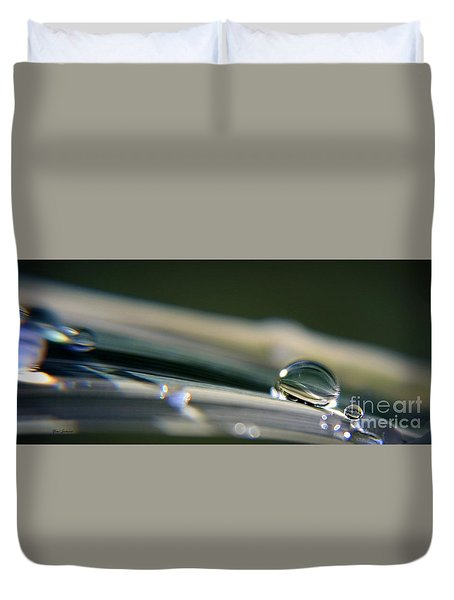 Rowling Droplets   Duvet Cover