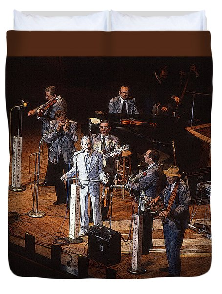 Roy Acuff At The Grand Ole Opry Duvet Cover