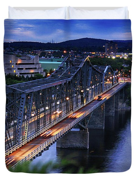Royal Alexandra Interprovincial Bridge Duvet Cover