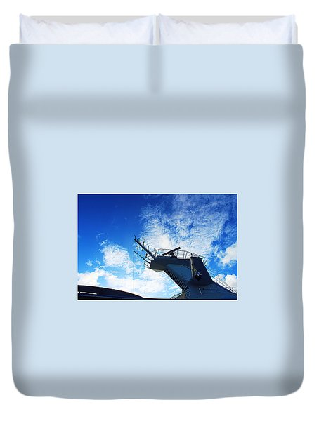Royal Caribbean Cruise Duvet Cover by Infinite Pixels