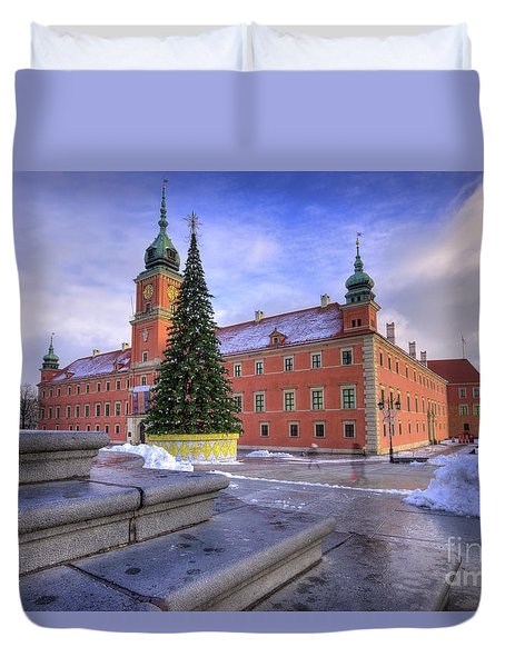 Duvet Cover featuring the photograph Royal Castle by Juli Scalzi