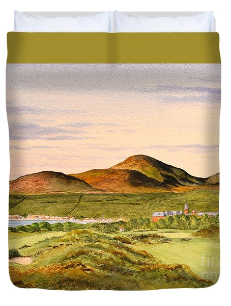 Royal County Down Golf Course Duvet Cover