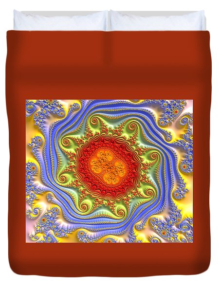 Royal Crown Jewels Duvet Cover