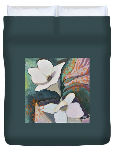 Royal Freesia Duvet Cover