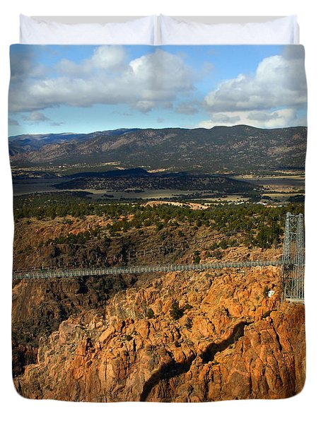 Royal Gorge Duvet Cover