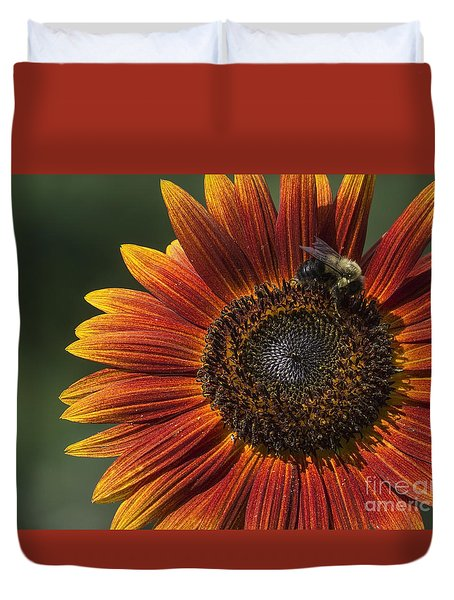 Royal Harvest Duvet Cover