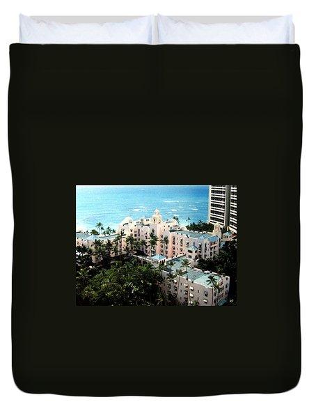 Royal Hawaiian Hotel  Duvet Cover