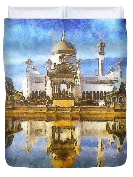 Royal Mosque  Duvet Cover