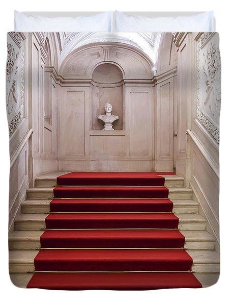 Royal Palace Staircase Duvet Cover by Jose Elias - Sofia Pereira