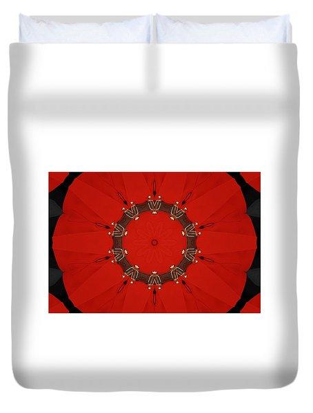 Royal Red Duvet Cover