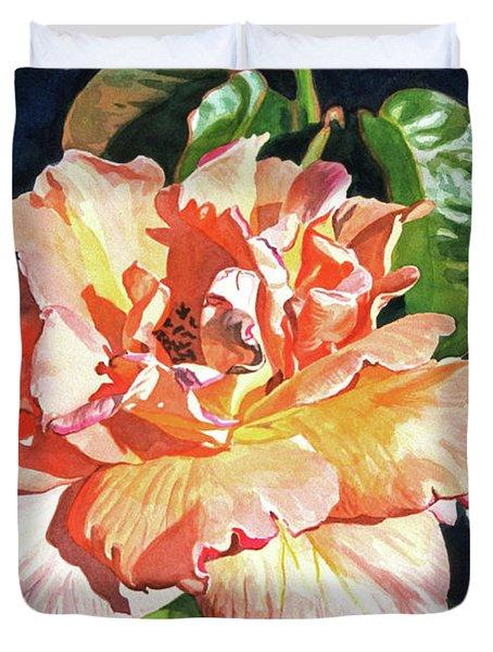Royal Rose Duvet Cover