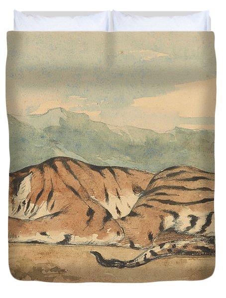 Royal Tiger Duvet Cover