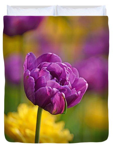 Royal Tulips Duvet Cover