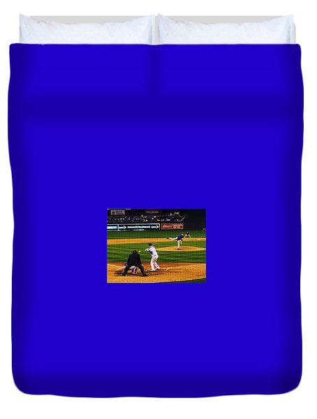 Royals 2016 Season Opener Duvet Cover