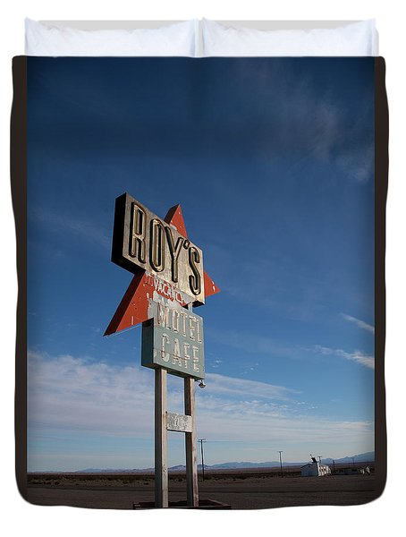 Duvet Cover featuring the photograph Roys In Amboy by Matthew Bamberg