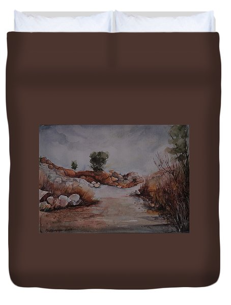 Rubbles Duvet Cover