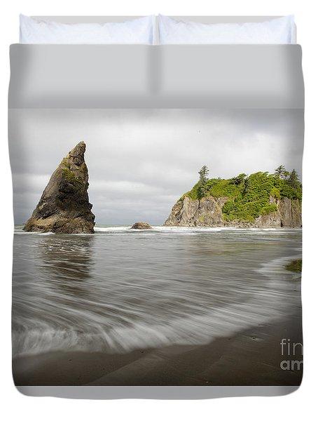 Ruby Beach Duvet Cover
