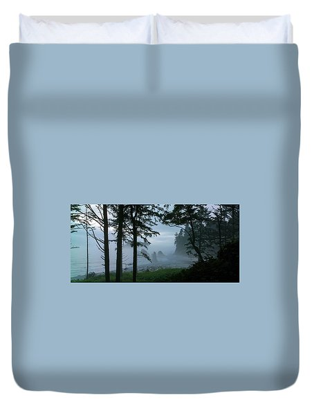 Ruby Beach II Washington State Duvet Cover