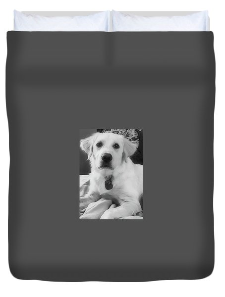 Duvet Cover featuring the photograph Ruby by Bruce Carpenter