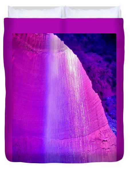 Ruby Niagara Falls Duvet Cover
