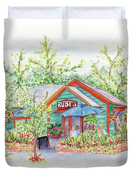Ruby's Duvet Cover
