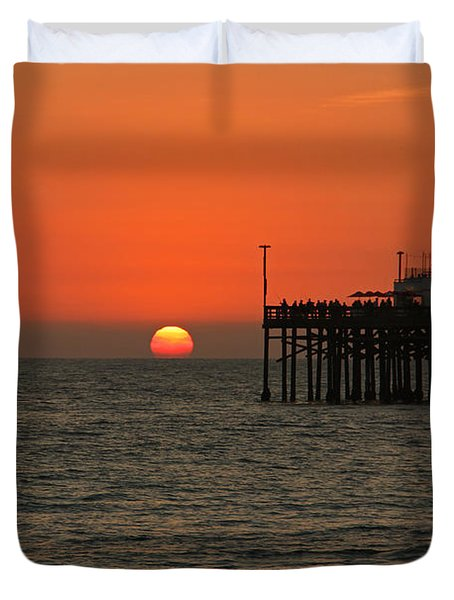 Ruby's Sunset Duvet Cover