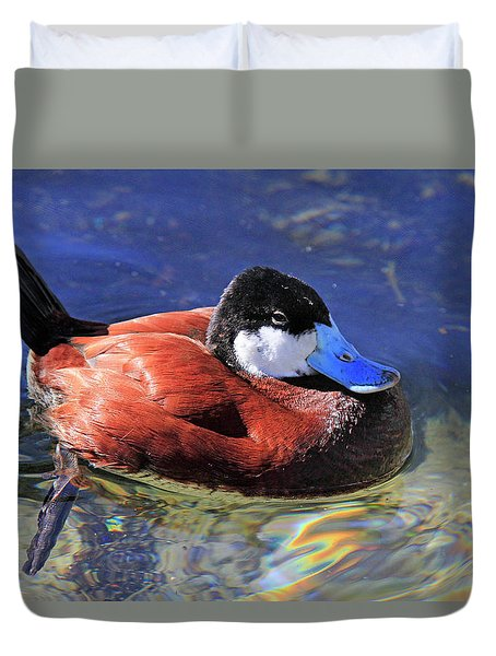 Ruddy Duck 2 Duvet Cover