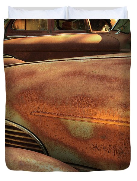 Ruddy Rover Duvet Cover