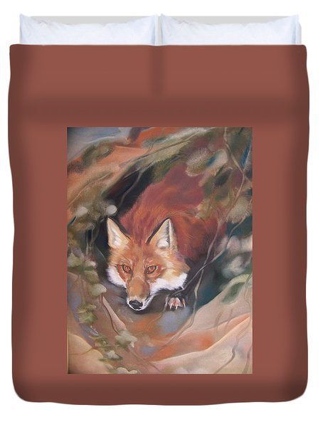 Rudy Adult Duvet Cover by Marika Evanson