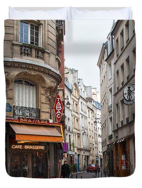 Rue Dante Paris Duvet Cover
