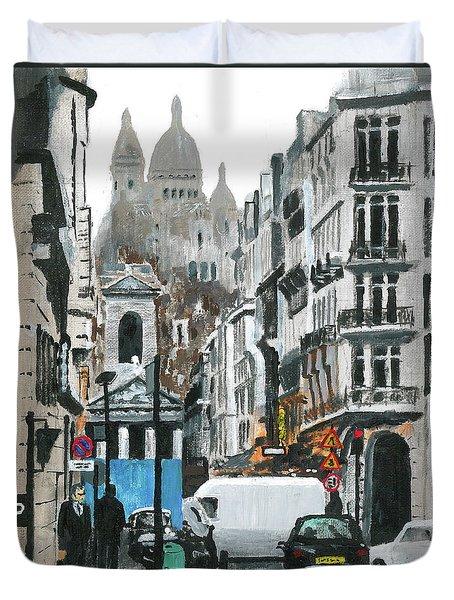 Rue Lafitte Duvet Cover