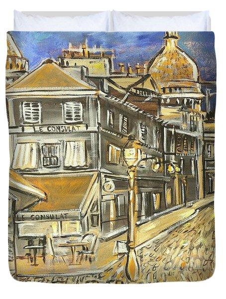 Rue Lepic Duvet Cover