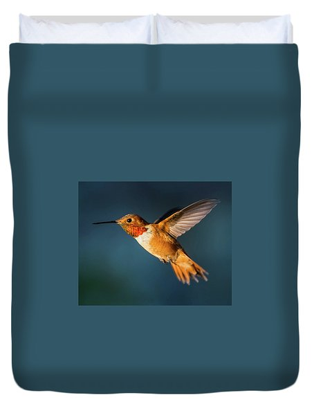 Rufous Duvet Cover by Martina Thompson