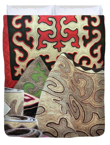 Rug Sale Duvet Cover by Alycia Christine