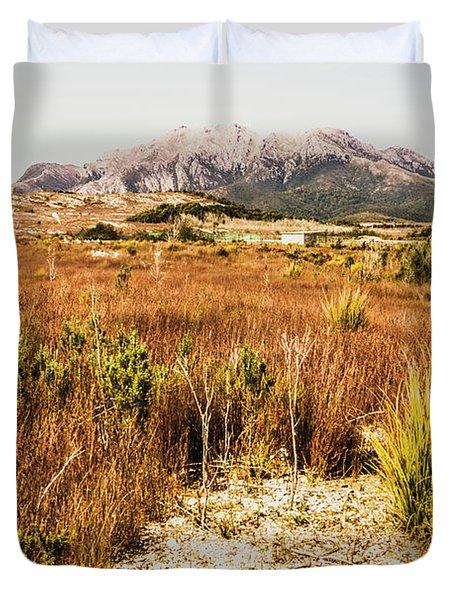 Rugged Australian Bushland Duvet Cover