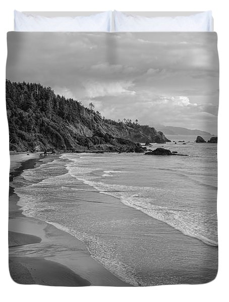 Rugged Beauty Duvet Cover by Don Schwartz