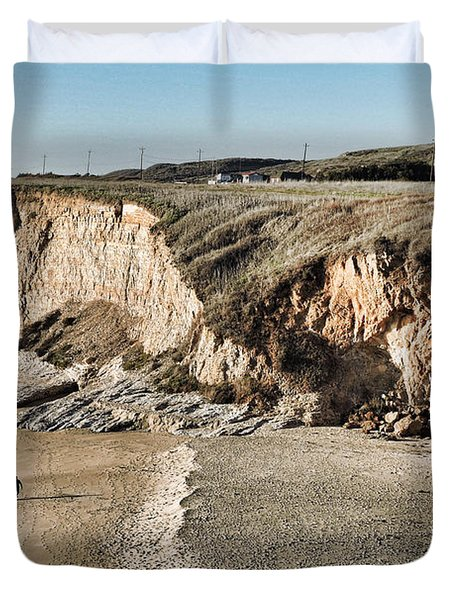 Rugged Coastline Duvet Cover