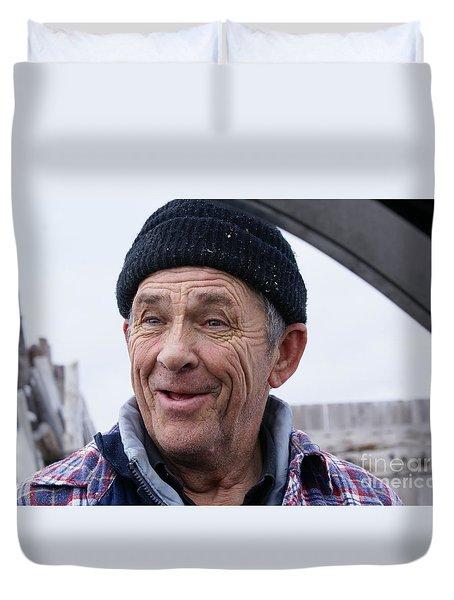 Rugged Fisherman Duvet Cover
