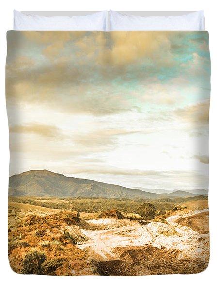 Rugged Natural World Duvet Cover