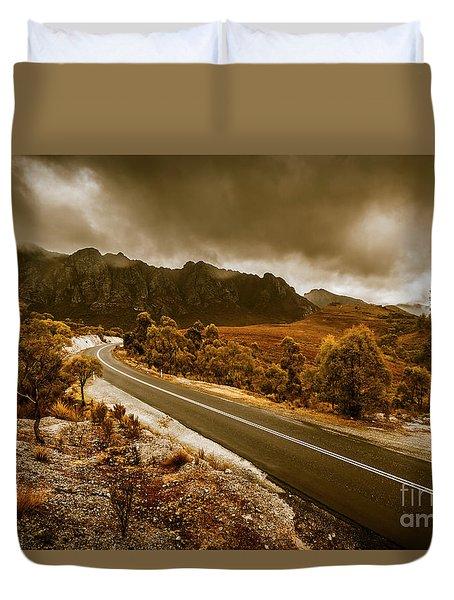 Rugged Rural Retreats Duvet Cover