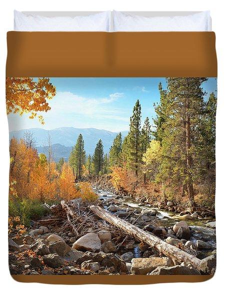 Rugged Sierra Beauty Duvet Cover