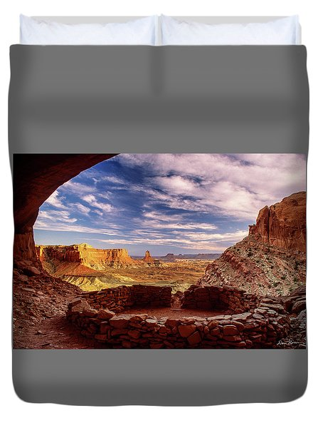 Ruin With A View Duvet Cover