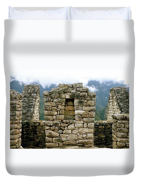 Ruins In A Lost City Duvet Cover