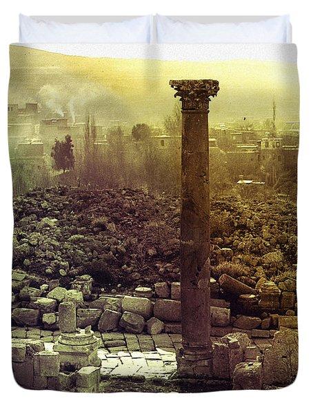 Ruins Of Jurash Duvet Cover