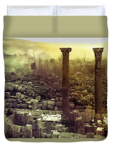 Ruins Of Jurash Duvet Cover